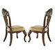 Samuel Lawrence Furniture Baronet Upholstered Side Chair in Dark Birch (Set of 2) 8366-154