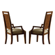 Homelegance Campton Arm Chair in Cherry (set of 2) 836CA