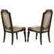 Homelegance Eastover Side Chair in Neutral Gray Diftwood (set of 2) 845S
