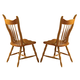 Liberty Furniture Country Haven Mule Ear Side Chair in Spice Finish 85-C1430S (Set of 2)