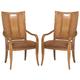 American Drew Antigua Splat Back Arm Chair (Set of 2)
