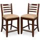 American Drew Tribecca Splat Back Barstools (Set of 2)
