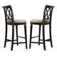 American Drew Camden Barstool Bar Height in Black (Set of 2)