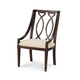 A.R.T. Intrigue Wood Back Arm Chair (Set of 2)