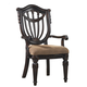 Fairmont Designs Grand Estates Wood Back Arm Chair (Set of 2) in Cinnamon C4102-02