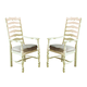 Paula Deen Home Mike's Arm Chair in Linen (Set of 2)