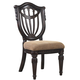 Fairmont Designs Grand Estates Wood Back Side Chair (Set of 2) in Cinnamon C4102-01