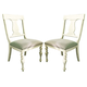 Paula Deen Home Paula's Side Chair in Linen (Set of 2)