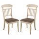 Manadell Upholstered Side Chair in White (Set of 2) CLEARANCE
