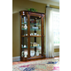 Pulaski Salermo Wooder Curio Cabinet 21131