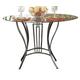 Homelegance Flight Dining Table in Dark Grey 2415-42