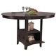 Homelegance Junipero Counter Height Table in Dark Cherry 2423-36