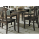 Homelegance Merritt Dining Table in Dark Oak 2427-60