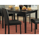 Homelegance Dover Dining Table in Black 2434-48
