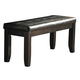 Homelegance Hawn Bench in Walnut 2438-13