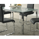 Homelegance Knox Dining Table in Chrome 2448