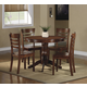 Homelegance Wayland 5-Piece Dinette Table Set in Antique Oak 2457