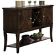Homelegance Alita Server in Cherry 2477-40