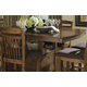 Homelegance Marcel Counter Height Table in Warm Oak 2489-36XL