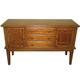 Liberty Furniture Santa Rosa Server in Mission Oak Finish 25-SR400
