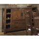 Homelegance Vasquez Server in Warm Oak 2504-40