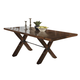 Homelegance Vasquez Dining Table in Warm Oak 2504-96