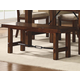 Homelegance Clayton Bench in Dark Oak 2515-13