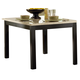 Homelegance Archstone Dining Table in Black 3270-48