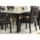 Homelegance Archstone Dining Table in Black 3270-60
