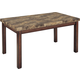 Homelegance Achillea Dining Table in Cherry 3273-60