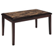 Homelegance Belvedere Dining Table in Espresso 3276-60