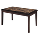 Homelegance Belvedere Extension Dining Table in Espresso 3276-78