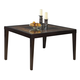 Homelegance Vincent Dining Table in Dark Brown 3299-52
