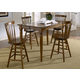 Liberty Furniture Creations II 5pc Gathering Table Set in Tobacco Finish 38-T5