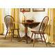 Liberty Furniture Low Country 3pc Drop Leaf Pedestal Table Set in Suntan Bronze Finish 76-T4W