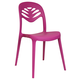 Domitalia ForYou2 Stacking Chair in Purple (Set of 4)