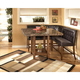 Lacey 4-Piece Square Counter Height Dining Set