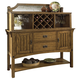 Somerton Craftsman Server with Hutch in Brown 417-73/H