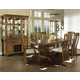 Somerton Craftsman 7pc Formal Dining Room Set in Brown 417DR