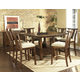 Somerton Dakota 7pc Square Bar Table Set in Brown 425DR