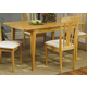 Coaster Davie Dining Table in Natural Finish 4267