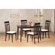 Coaster 5pc Dining Set in Cappuccino 4430