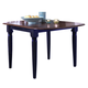 Liberty Furniture Creations II Drop Leaf Table in Black and Tabacco 48-T200