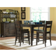 Broyhill Attic Retreat 5pc Counter Dining Table Set in Weathered Mink 4990DR