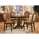 Acme Chateau De Ville 5-pc Counter Height Dining Set in Cherry