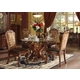 Acme Dresden 5-pc Round Dining Table Set in Cherry