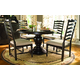 Paula Deen Home 5-pc Pedestal Set w/Mike's Chairs in Tobacco