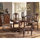 North Shore 5-pc Round Pedestal Table Set w/ Side Chairs
