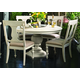 Paula Deen Home 5-pc Round Pedestal Dining Set in Linen