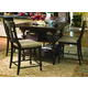 Paula Deen Home 5-pc Kitchen Gathering Table Set in Tobacco